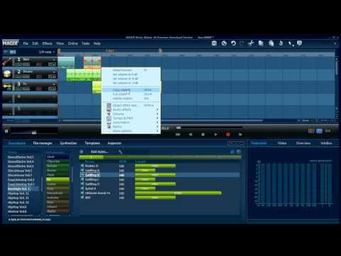 Magix Music Maker - Musik erstellen
