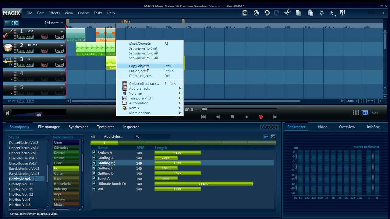 magix music maker - musik erstellen - youtube