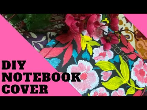 DIY JOURNAL COVER | CUSTOMIZED NOTEBOOK COVER