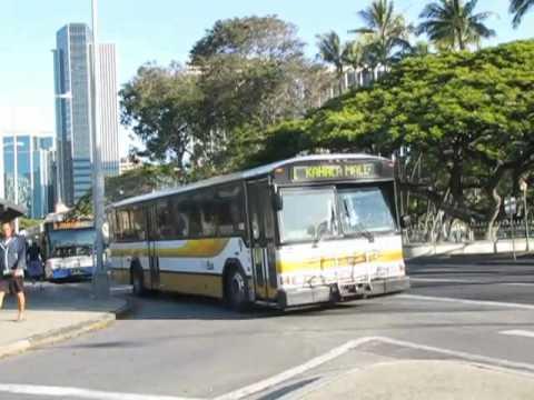 Honolulu TheBus Public Transit of Honolulu, Hawaii