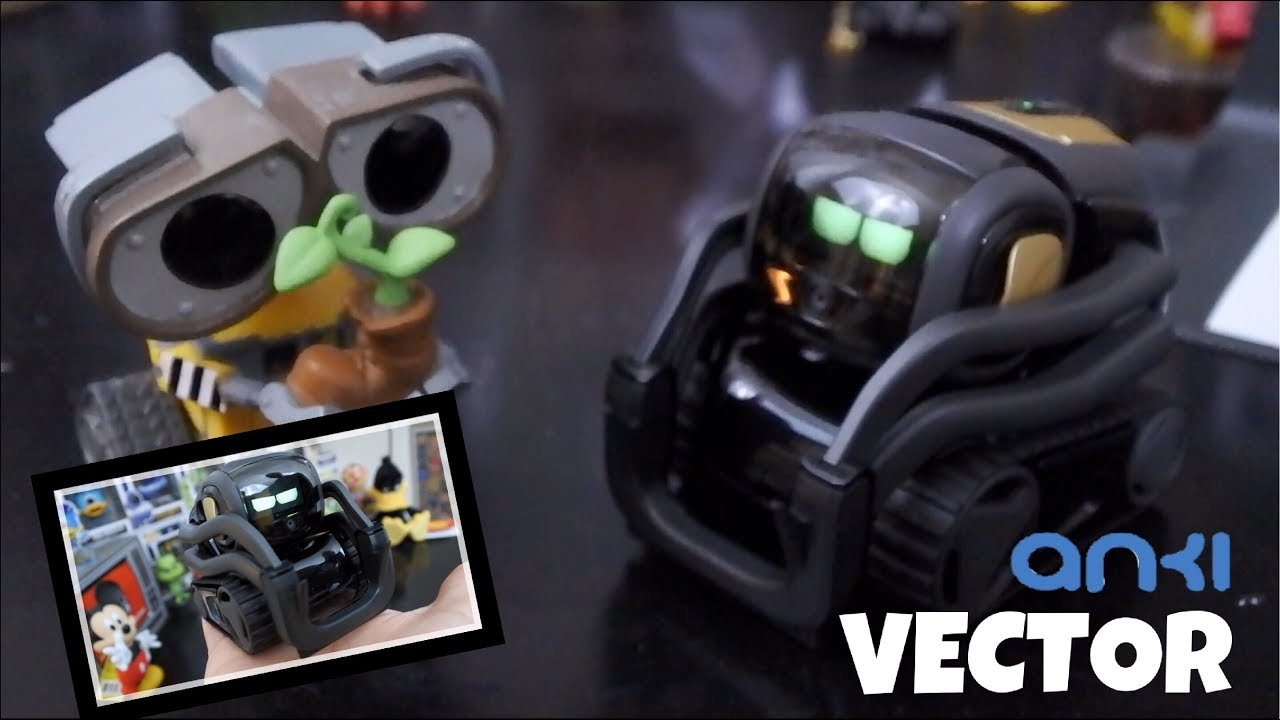 Anki Vector   A Real Life Wall E   Pint Size Terminator   Unboxing &  Interaction