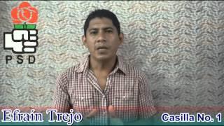 Efraín Trejo Diputado por el Departamento de La Paz El Salvador 2015