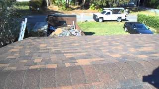 Brownwood shingle roof installed by Dunn Contracting