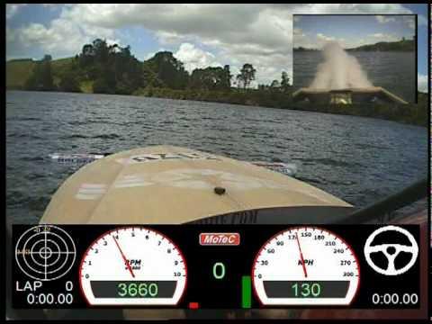 Turbine Powered Jet Boat Fast Fast Fast Mark Cromie