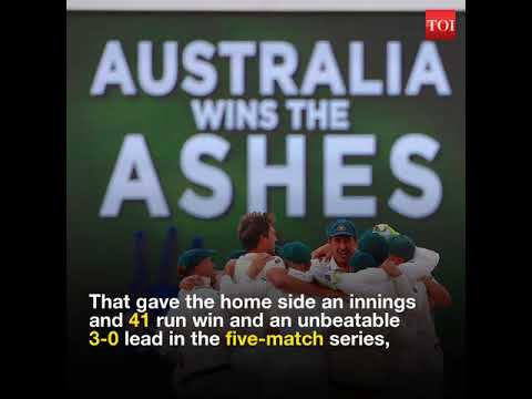 Australia reclaim Ashes with innings and 41-run win at WACA