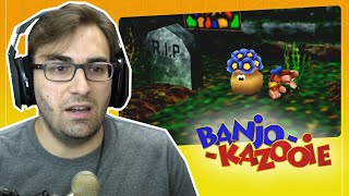 Desempenho DESASTROSO! | Banjo Kazooie #7 - Mad Monster Mansion | Gameplay do Clássico do N64