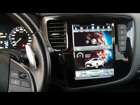 Магнитола для Mitsubishi Outlander в стиле Тесла