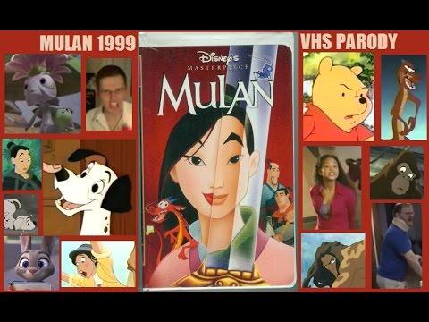 Mulan 1999 Vhs Tourettes Parody Youtube
