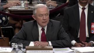 'I am not stonewalling,' Jeff Sessions tells Sen. Wyden Free HD Video