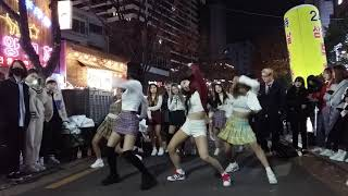 2018.11.11&걷고싶은거리&홍대&공차앞&여성댄스팀&Diana&by큰별