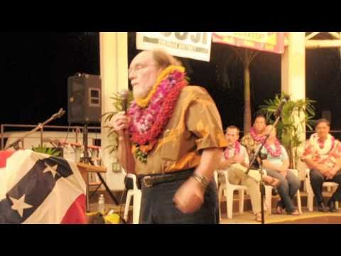 Neil Abercrombie Speaks at the Hilo Democratic Unity Rally
