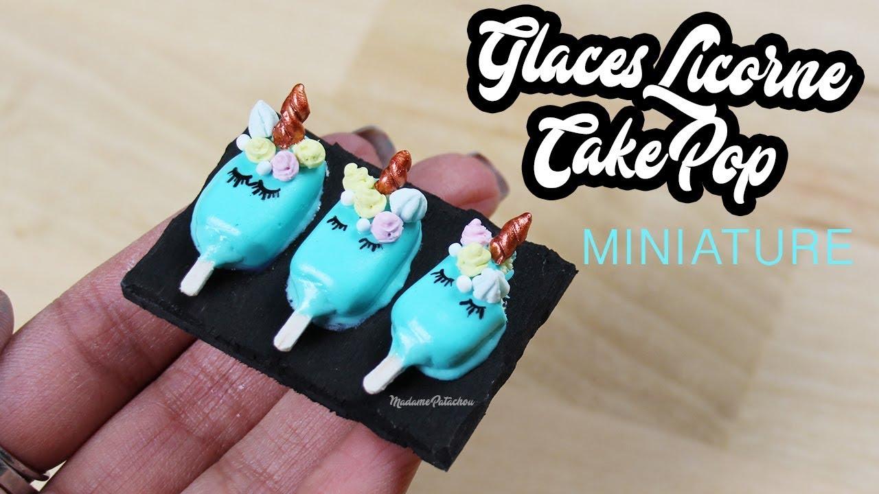 glaces licornes miniatures de *l'atelier de roxane*⎪madame patachou