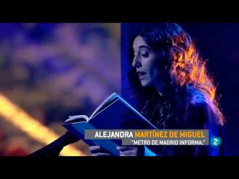 Metro de Madrid informa: - en La 2 noticias