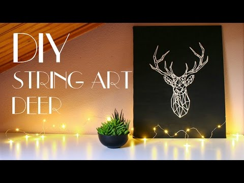 DIY - String Art Deer [Wall Art]