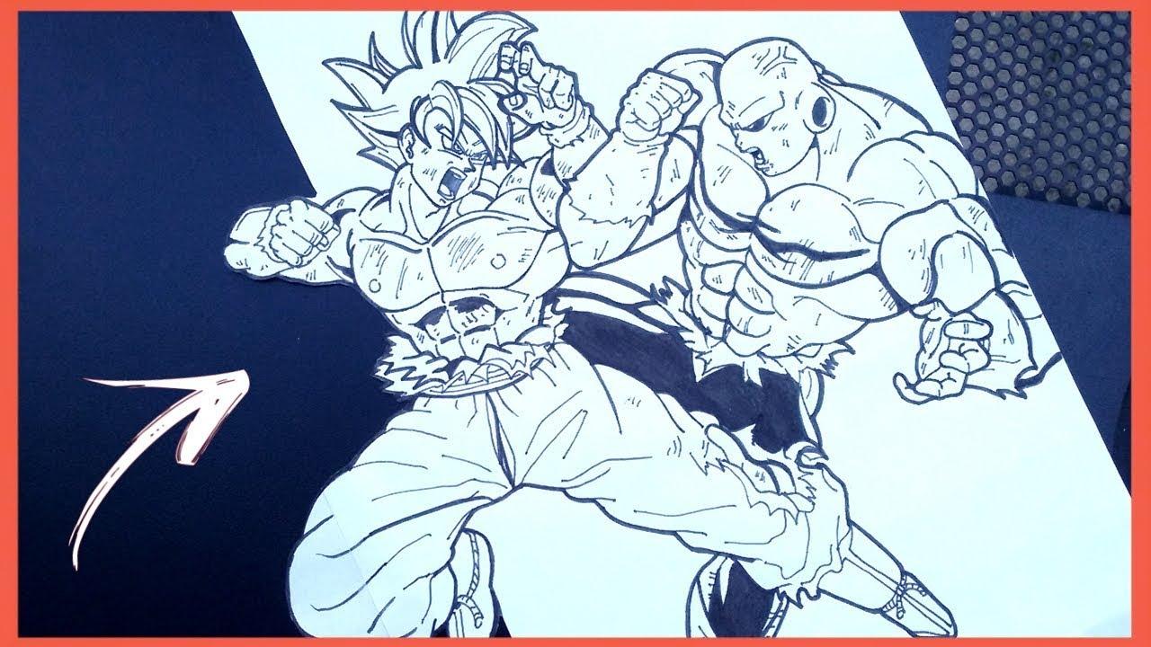 Como Desenhar O Goku Ultra Instinto Superior How To Draw