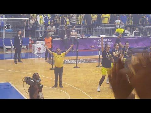 Maç Sonu Yücel Arslan Ve şampiyon Takım Tribünleri Coşturuyor 🏆