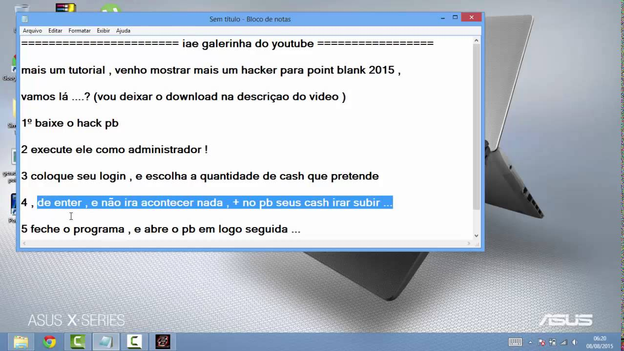 Download Point Blank Cash Hack Pb 20000 Para Youtube