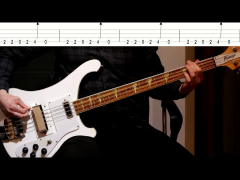 Nirvana - Breed (Bass tutorial with TABS)