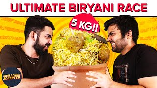 CRAZY Biryani Eating Challenge at Biryani Blues | Challenge Accepted #37