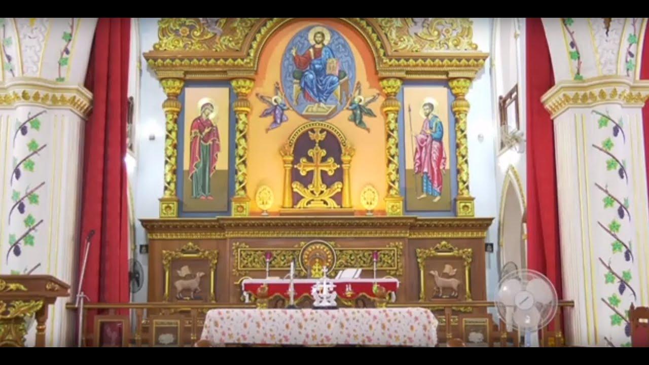 Sunday Holy Qurbana -05-Jul-2020 - St Thomas Church Vadavathoor