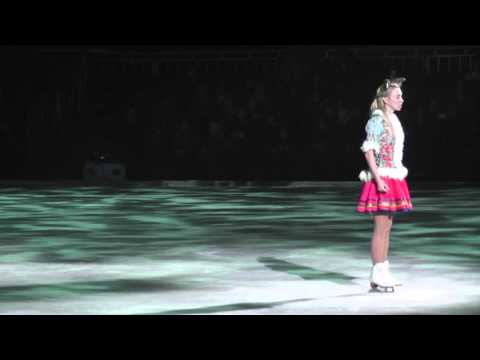 Ягудин, Тотьмянина - Новогоднее шоу Мама 4/01/14 12:00 Часть 10 Попугай и коза