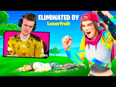 Reacting to Players Eliminating me In Fortnite...
