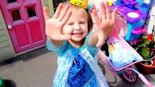 Эльза Игры в прятки КАК МАМА Видео для детей про куклы Катя Беби бон Катя кукла Беби