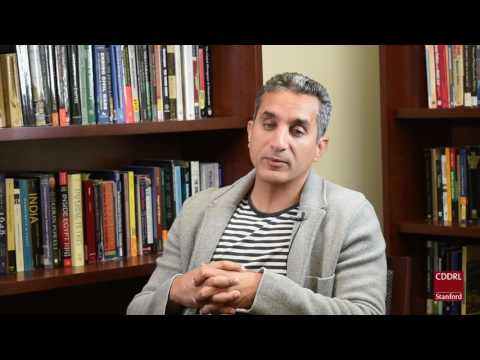 Bassem Youssef: Frightened masses are easy to manipulate