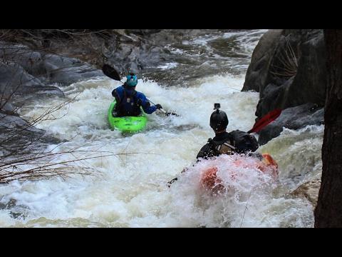 Kayaking Brush Creek Feb 16, 2017
