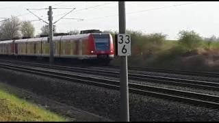 Züge im Vorbeifahren