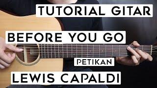 Download lagu (Tutorial Gitar) LEWIS CAPALDI - Before You Go | Lengkap Dan Mudah