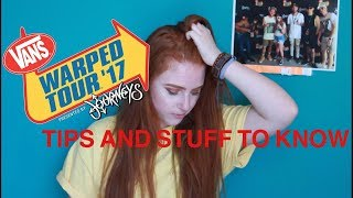 tips for warped tour 2017 edition