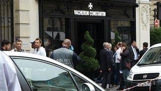 Spectaculaire braquage d'une horlogerie de luxe à Paris par quinze malfaiteurs - 04/10