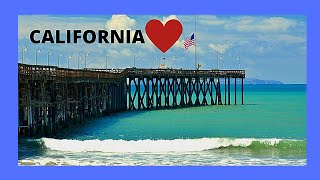 Ventura Beach pier, California