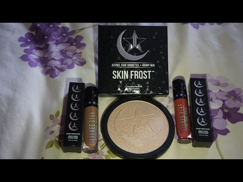 Jeffree star x Mannymua collab review and swatch   Rubi Rahman
