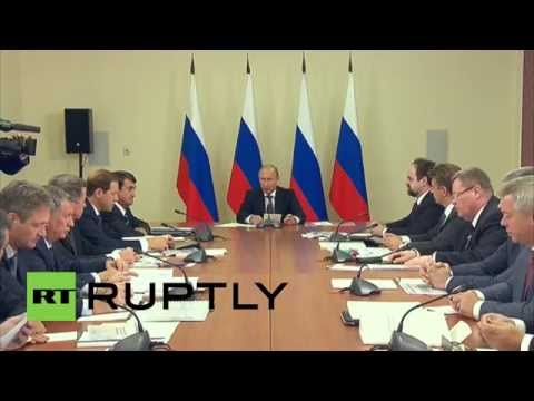 Russia: Putin calls for development of Crimean port alongside Azov and Black Sea