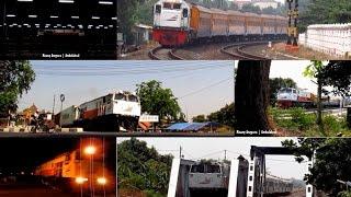 [kompilasi] Train at Cirebon - Kereta Api di Cirebon Kejaksan dan Prujakan