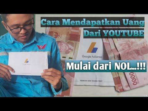 Youtuber Pemula Wajib Tau Cara Mendapatkan Uang Dari Youtube Mulai Dari Nol