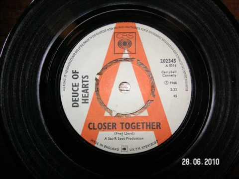 Deuce of Hearts - Closer Together1966 45rpm