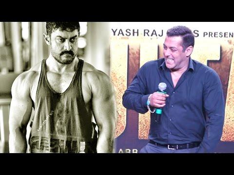 Download Salman Khan Makes FUN Of Aamir Khan's Body In Public | Dangal Vs Sultan
