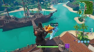 Fortnite Battle Royale - Season 8 Week 1 Secret Battlestar Location Guide (Discovery Challenges)
