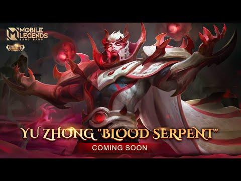 Yu Zhong New Grand Collection Skin | Blood Serpent | Mobile Legends: Bang Bang