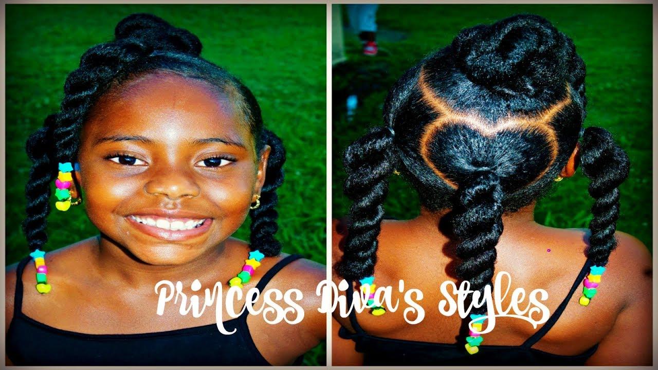 Diva Washes Moisturizes Her Own Hair Natural Kids 4a Hair