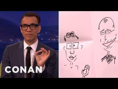 Fred Armisen On Meeting Steve Jobs  - CONAN on TBS
