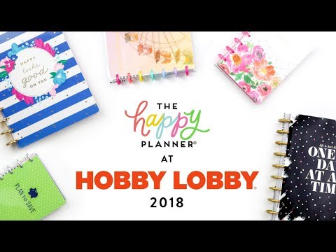 REVEAL WEEK! // HOBBY LOBBY 12-Month Happy Planners!