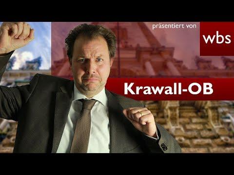 Krawall Bürgermeister spielt Polizei! Darf der das? | RA Christian Solmecke