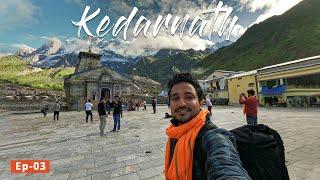 Kedarnath Yatra 2020, Sonprayag to Kedarnath Temple, 16km Trekking || Kedarnath Yatra Ep03