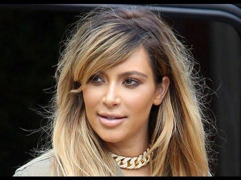 Kim Kardashian Goes Blonde, Shows Off Post Baby Body ...