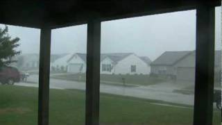 West Lafayette Indiana Storm July 17, 2010