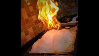 Tuzda Balık - Geleneksel pişirme yöntemlerini unutun !!!
